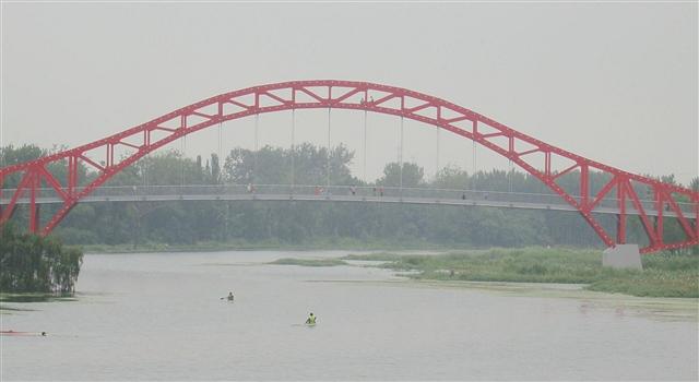 秦皇岛汤河公园彩虹桥美景(图)