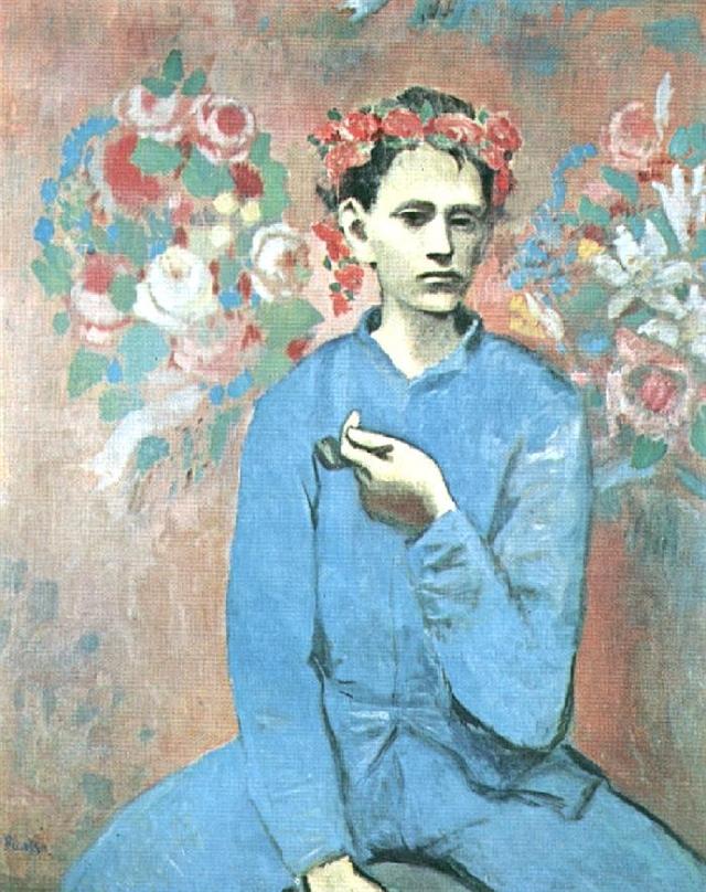 毕加索 凡高画欣赏高清图片